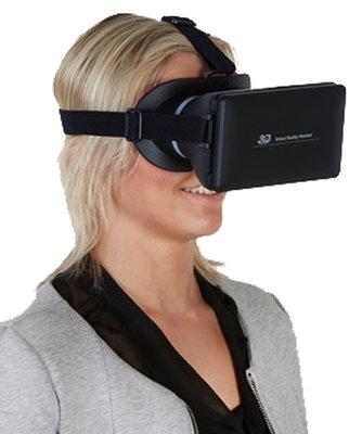 3-D Virtual reality bril