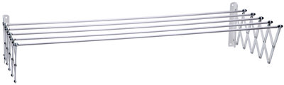 Protenrop Uittrekbaar stalen droogrek (120x70cm)